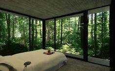 Gres House in a Brazilian Rain Forest by Luciano Kruk via Homeli.co.uk