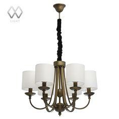 Подвесная люстра MW-Light Вирджиния 444010708 — купить в интернет-магазине ВамСвет