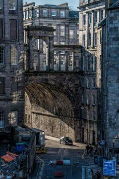 Colton Road & Waterloo Place Bridge , Edinburgh