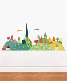 Take a look at this Journey in the Countryside Wall Decal by ADzif on #zulily today!