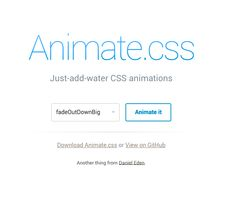http://daneden.github.io/animate.css/