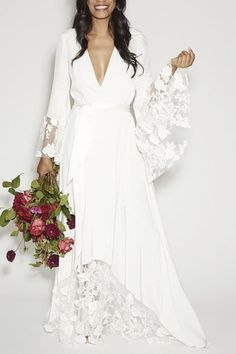 12 Non-Traditional Wedding Dresses for the Non-Basic Bride via @PureWow