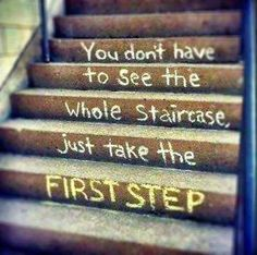 You don't have to see the whole Staircase..