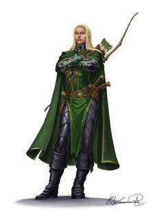 MatesLaurentiu.deviantart.com on @DeviantArt  D&D Elfes des bois (elfes sylvains, elfes verts, voire elfes cuivrés)