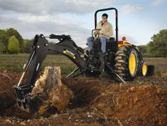 Use these tips to choose the right compact backhoe for your farm. Photo courtesy Cub Cadet Yanmar