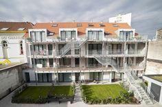 Immeubles de 38 logements à Evere / Suède36 / Wallonie-Bruxelles Architectures