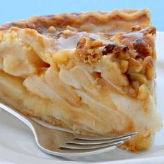 . Caramel Apple Pecan Pie Recipe from Grandmothers Kitchen.