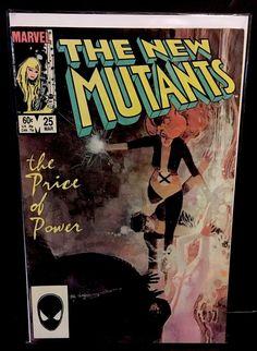 NEW MUTANTS 25 1st Appearance LEGION Marvel Comics Bill Sienkiewicz 1985 VF    eBay