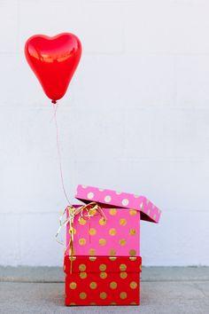 Mini Heart Balloon Valentines!