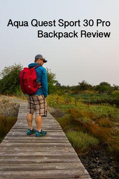 Aqua Quest Sport 30 Pro Backpack Review