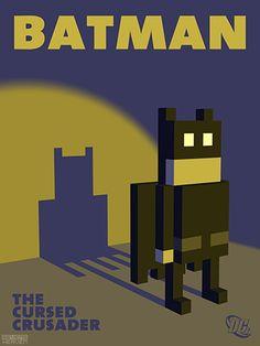 Batman Pixel Art