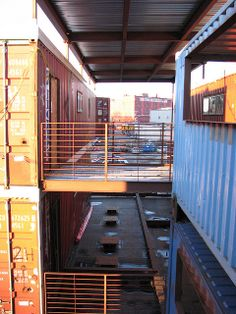 container walk by flickr gingr, via Flickr