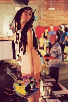 Pretty locs - To learn how to grow your hair longer click here - http://blackhair.cc/1jSY2ux