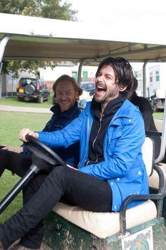Go cart fun Much Music, Music Is Life, Simon Neil, Biffy Clyro, Sexy Men, Singer, Guys, My Love, Celebrities
