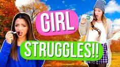 Girl STRUGGLES in Fall!! Alisha Marie