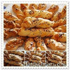 Patisserie Cookie (Salty) – Recipe tricks, recipes and recipes - Food and Drink Brunch, Vegetarian Breakfast Recipes, Bread And Pastries, Turkish Recipes, Special Recipes, Cookies Et Biscuits, Food And Drink, Easy Meals, Cooking Recipes