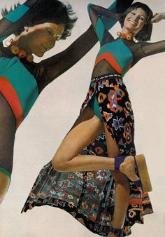 Photo by Bert Stern for Vogue, 1971.