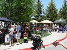 7) Shop at the Park Silly Sunday Market in Park City
