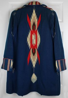 Vintage Chimayo Hand Woven Coat 1930's 40's New Mexico Southwest by Ganscraft | eBay