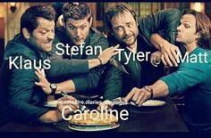 This is literally my two favorite shows in one - Eat Good Vampire Diaries Poster, Vampire Diaries Wallpaper, Vampire Diaries Quotes, Vampire Diaries Cast, Vampire Diaries The Originals, Stupid Funny Memes, Funny Relatable Memes, Funny Texts, Hilarious