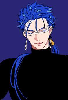 Cu Chulainn ( Lancer ) - Fate Fate Zero, Character Art, Character Design, Fate Stay Night Anime, Fate Servants, Wise Monkeys, Fate Anime Series, Best Waifu, Manga