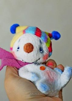Crazy Snowman By NatalyTools - Bear Pile