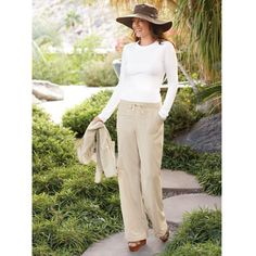 Women's Irresistible Drawstring Pants - Solumbra: All Day 100+ SPF Sun Protective Clothing - Style# 23100