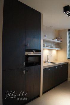Projecten | RhijnArt Keukens uit Kesteren Kitchen Interior, Kitchen Inspirations, Home Decor Kitchen, Bathroom Interior Design, Kitchen Decor, House Styles, Home Kitchens, Home Interior Design, Kitchen Extension