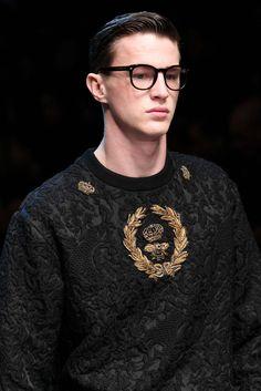 Dolce & Gabbana Fall 2015 Menswear - Details - Gallery - Style.com