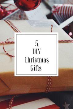 5 julklappar du kan göra själv
