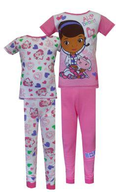 4bc95ef41f Disney Doc McStuffins All Better 4 Piece Cotton Pajamas
