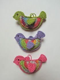 fairislerona: Crochet Birds for Easter