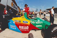 Australia, 1987. Ford is on par with Honda now, but the formula changes after this race.