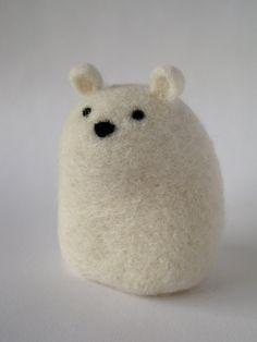 cuteness in felted wool