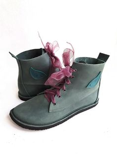 UK 7 COBWEB Boot #3483