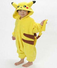 Pikachu onesie -kind