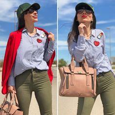 Shopping: PArches Magenta - Temporada: Primavera-Verano - Tags: look, ootd, fashion, moda,  - Descripción: Look sporty customizado con parches de lentejuelas #FashionOlé