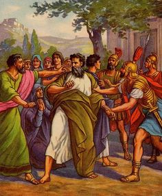 The Apostle Paul influenced Christianity second only to Jesus Christ. Paul spread the gospel throughout the Roman Empire and wrote 13 books of the Bible. Romans Bible, New Testament Bible, Paul The Apostle, Catholic Online, Bible Illustrations, Bible Pictures, Faith In God, Christianity, Bible Readings
