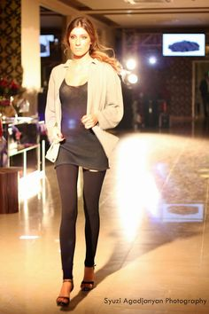 #lookatmeow #Armenian #Fashion #Week - Day 1: #LiudmilaNorsoyan #AW13 #AFW #designer #russian