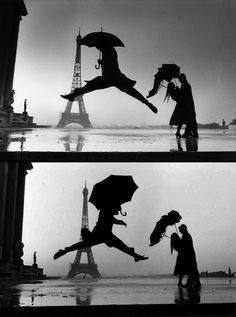 "Paris by Elliot Erwin  ""Singin' and Dancin' in the rain!!"""