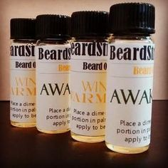 Sample Size Beard Oil