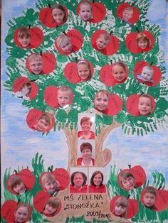 26 Decorações para sala de aula, com fotos dos alunos - Aluno On Kids Crafts, Clown Crafts, Diy Arts And Crafts, Fall Crafts, Art Activities, Classroom Activities, Classroom Decor, Birthday Bulletin Boards, Classroom Birthday