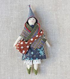 tiny rag doll : miss cornflower