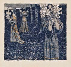 Le Prince Lointain: Maximilian Lenz (1860-1948), Jeunes Filles aux Fle...