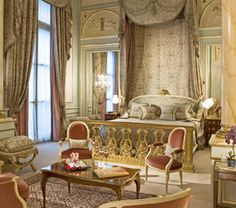 The Imperial Suite at the Ritz Paris