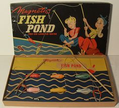 1000 images about 1940 39 s on pinterest 1940s telephone for Fish pond game