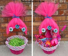Trolls Movie Easter Basket Idea