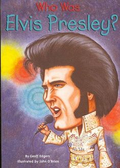 Buy Who Was Elvis Presley? by Geoff Edgers from Boomerang Books, Australia's Online Independent Bookstore Elvis Presley, Priscilla Presley, Boomerang Books, Rock Music History, Black And White Illustration, Blues Music, Thats The Way, Gospel Music, Graceland
