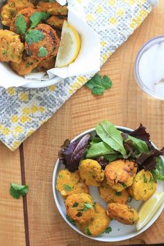 Spiced Yellow Split Pea Fritters