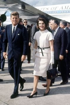 Stylish couples through out history: John F Kennedy and Jackie O